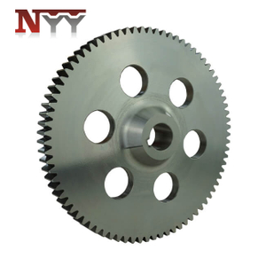 Beverage packing machinery spur gear