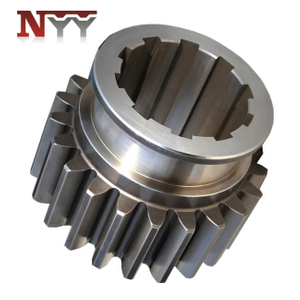 Mining machinery spline drive gear