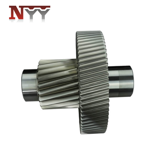 Food and feed machinery 18CrNiMo7-6 carburized gear shaft assembly