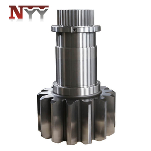 Mining machinery DIN 6 gear shaft