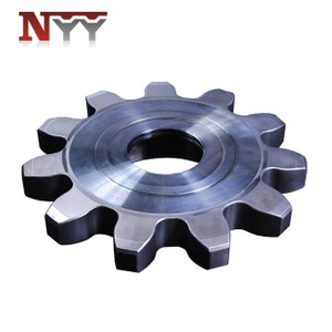 Mining machinery travelling gear