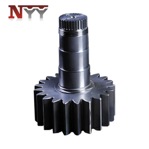 Wind power industry 17CrNiMo6 pitch gear shaft