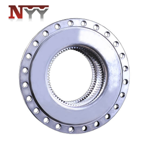 Wind turbine nitriding gear